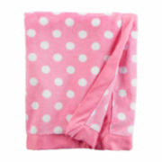 Carter's Girl Pink Dot Blanket