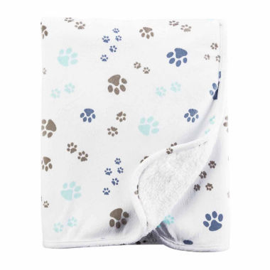 jcpenney.com | Carter's Puppy Paw Blanket