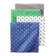 Carter's Boy Blue 4pk Blankets