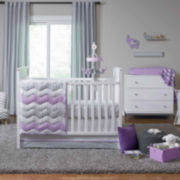 Crown Crafts Emma 4-pc. Crib Bedding Set