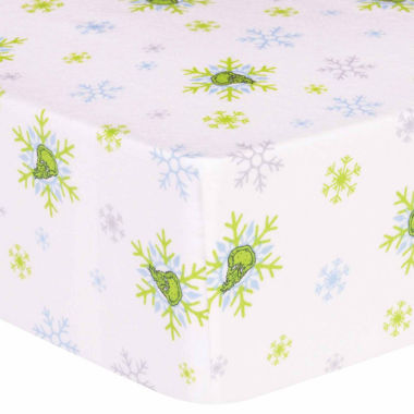 jcpenney.com | Trend Lab Dr Seuss Grinch Flannel  Crib Sheet