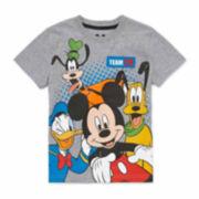 Disney By Okie Dokie Boys Graphic T-Shirt-Toddler