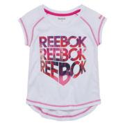 Reebok Girls Graphic T-Shirt-Toddler