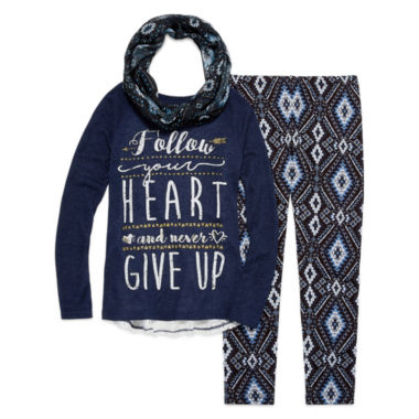 jcpenney.com | Arizona Girls Legging Set-Big Kid