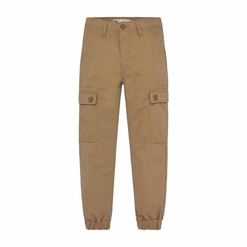 Levi's Twill Jogger Pants - Big Kid Boys