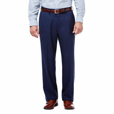 jcpenney.com | Haggar® Expandomatic Stretch Classic-Fit Flat-Front Pants