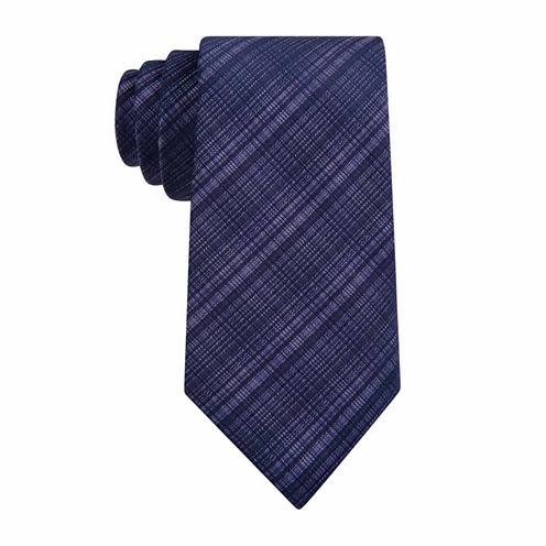 Van Heusen Chrome Grid II Slim Tie