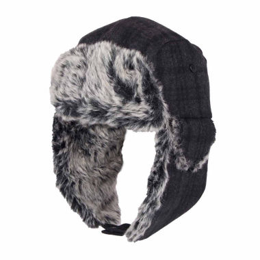 jcpenney.com | Dockers Charcoal Black Trapper Hat