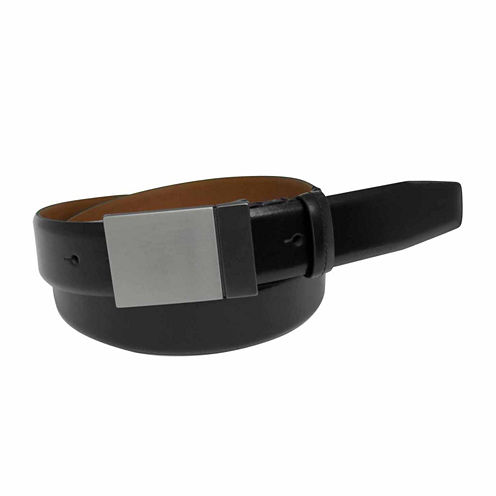 Van Heusen Flex Plaque Buckle Belt