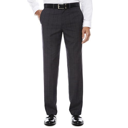 JF J.Ferrar Stretch Suit Pants-Slim Fit