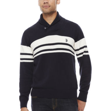 jcpenney.com | Us Polo Assn. Long Sleeve Cotton Pullover Sweater