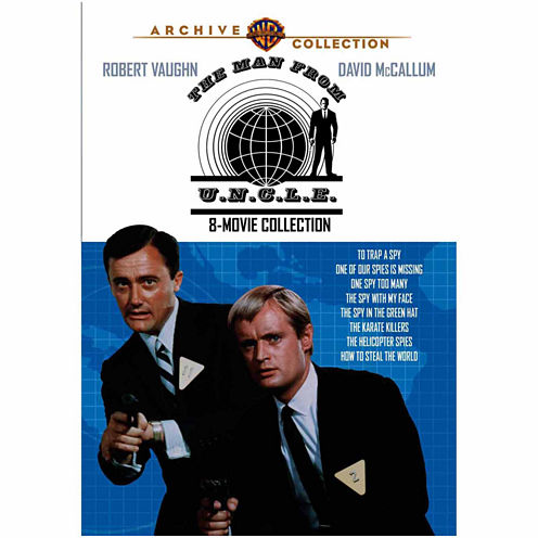 The Man From U.N.C.L.E. 8 Movies Collection
