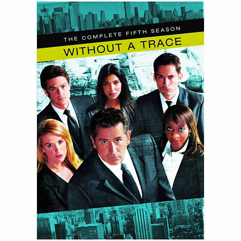 Without A Trace The Complete Fifth Season