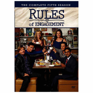 jcpenney.com | Rules Of Engagement Season 5 3-Dvd Set