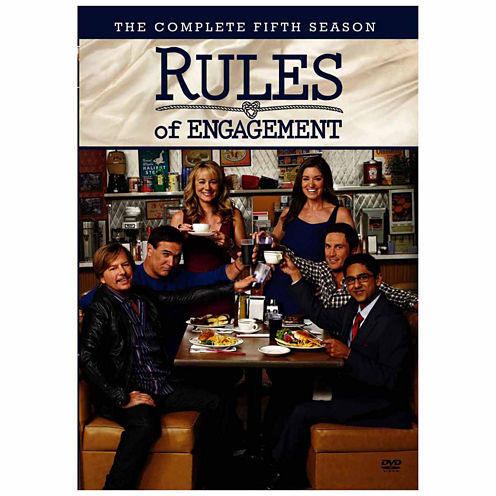 Rules Of Engagement Season 5 3-Dvd Set