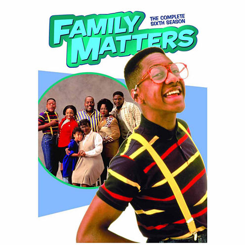 Family Matters The Complete Sixth Season