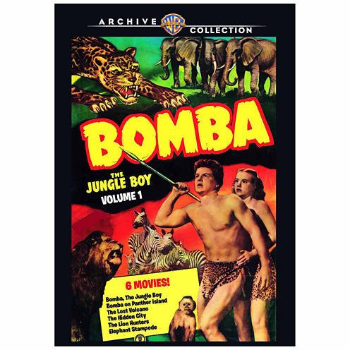 Bomba The Jungle Boy Volume 1 - 3 Discs - DVD