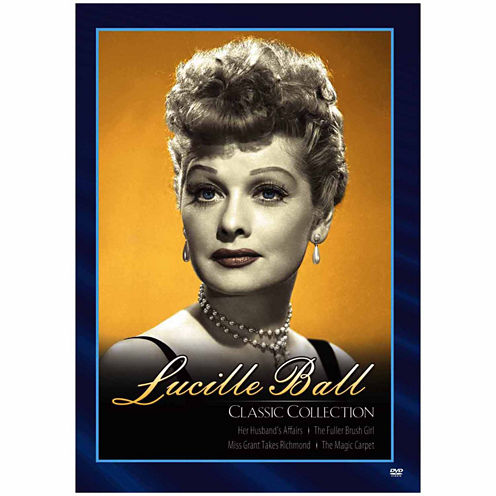 Lucille Ball: Classic Collection - 4 Discs - DVD