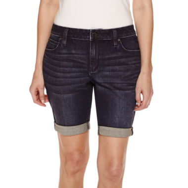 jcpenney.com | a.n.a Woven Bermuda Shorts-Petites