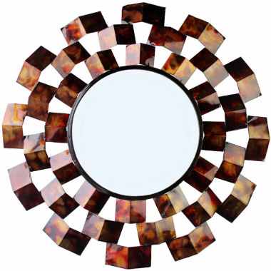 jcpenney.com | Art Deco-Inspired Round Wall Mirror