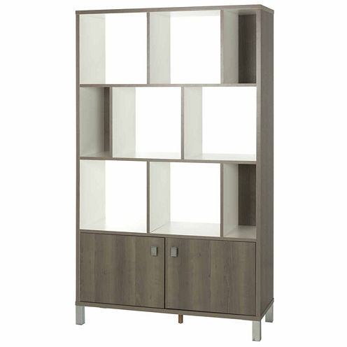 Expoz 9-Cube Shelving Unit with Doors