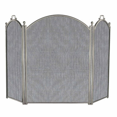 jcpenney.com | Blue Rhino 3 Panel Satin Pewter Finish Fireplace Screen
