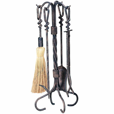 jcpenney.com | Blue Rhino Antique Rust Fireplace Tool Set