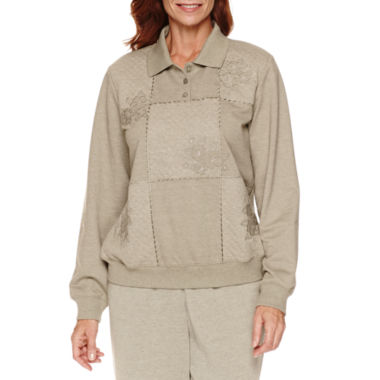 jcpenney.com | Alfred Dunner Sweet Nothings Long Sleeve Sweatshirt