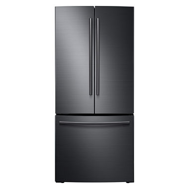 Samsung 21 8 cu ft 30 wide french door refrigerator for 4 ft wide french doors