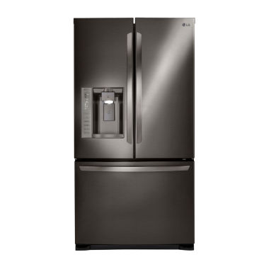 jcpenney.com | LG ENERGY STAR® 24 cu. ft. Ultra Large Capacity 3-Door French Door Refrigerator With SpacePlus® Ice System