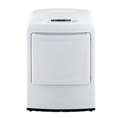 jcpenney.com | LG 7.3 cu.ft. Ultra-Large Capcacity High-Efficiency Electric Dryer with Front Control Design