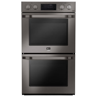 jcpenney.com | LG Studio 4.7 cu. ft. Large Capacity Electric Double Wall Oven