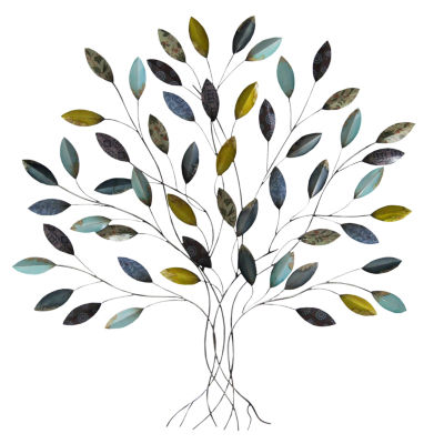 Tree Wall Decor Trees + Leaves Metal Wall Art JCPenney