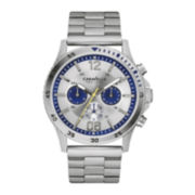 Caravelle New York® Mens Stainless Steel Sport Watch 43A130