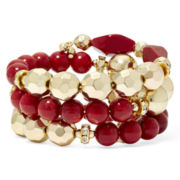 Bold Elements™ Bead Coil Bracelet