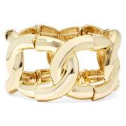 Bold Elements Chain-Link Stretch Bracelet