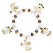 Angel Charm Stretch Bracelet