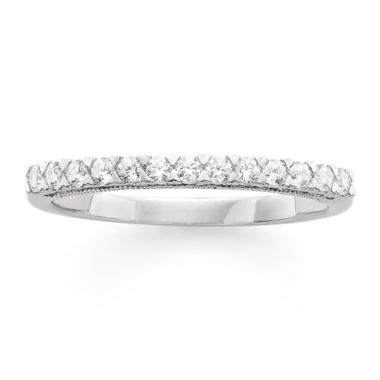 jcpenney.com | Modern Bride® Signature 1/4 CT. T.W. Certified Diamond 14K White Gold Wedding Band