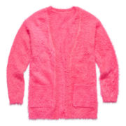 Total Girl® Eyelash Cardigan - Girls 7-16 and Plus