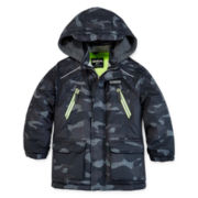 OshKosh B'gosh® Camo Cold-Weather Coat - Preschool Boys 4-7