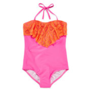 Malibu Diamond Girl Swimsuit - Girls Plus