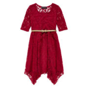 Disorderly Kids® Lace Shark Bite Dress - Girls 7-16