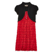 Speechless® Eyelash Dress - Girls 7-16 and Plus