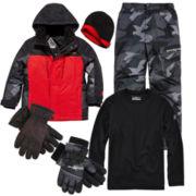 ZeroXposur® Snowboard Jacket, Dri-Tech Long Sleeve, Snow Pant or Waterproof Ski Gloves- Boys 8-20