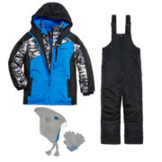 Weatherproof® Vestee Jacket, Snow Bib or Hat/Glove Set - Preschool Boys 4-7
