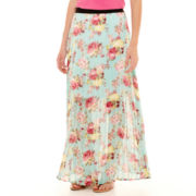 Love by Design Pleated Maxi Skirt
