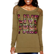Arizona Long-Sleeve Sweatshirt - Juniors