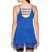 Arizona Lace-Trim Swing Tank Top