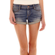 Arizona Roll-Cuff Denim Shorts