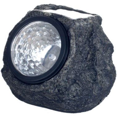 jcpenney.com | Pure Garden Set of 4 Solar Outdoor LED Rock Landscaping Lights